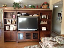 Ashley Entertainment Center, Oak Finish in Yucca Valley, California