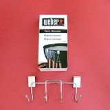 WEBER #1201 BBQ KETTLE GRILL TOOL HOLDER 4 HOOKS NIP in Oswego, Illinois