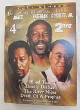 Reduced~2 DVD Set~James Earl Jones, Morgan Freeman & Louis Gossett,JR in Yorkville, Illinois