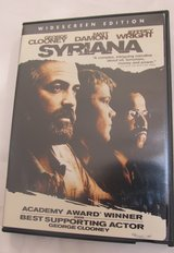 Syrlana~George Clooney, Matt Damon & Jeffrey Wright in Yorkville, Illinois