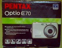 Pentax Optio E70 deep blue color/Brand new, in box!$119. in Fort Bliss, Texas