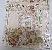 Reduced~Happy Camper Scrapbook Kit in Aurora, Illinois