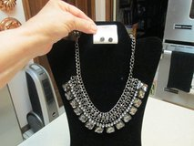 Stunning Visions Bib Necklace & Matching Earrings in Kingwood, Texas