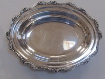 Reduced Again American Rose Webster Gallery Silverplated Tray in Aurora, Illinois